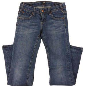 "Vigoss 25 Jeans Ritz Wide Leg Flare 31"" Inseam"